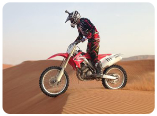 KTM Bike adventure dubai